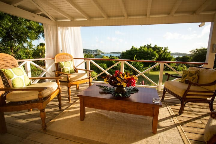 Banana Tree Bungalows, Antigua W.I. - St. Paul - House