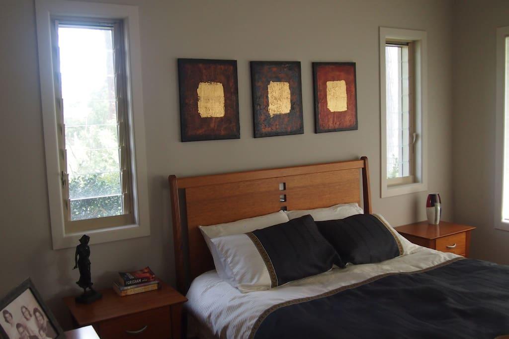 Ensuited Queen bedroom