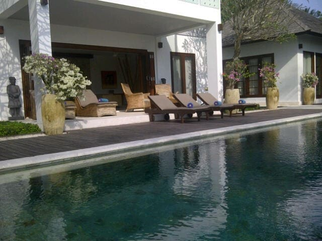 Pool Deck and pool side chairs