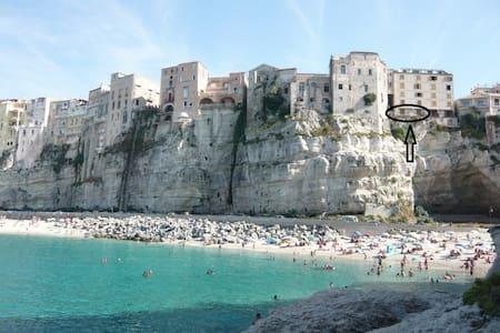Il terrazzino a picco sul mare