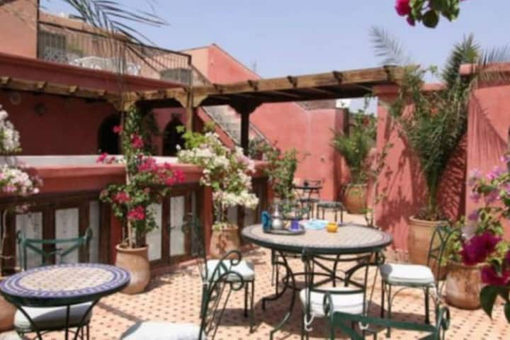 Riad Balkisse one or several doubles/triples rooms