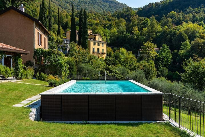 Villa Meri with pool 5 min by car from Varenna