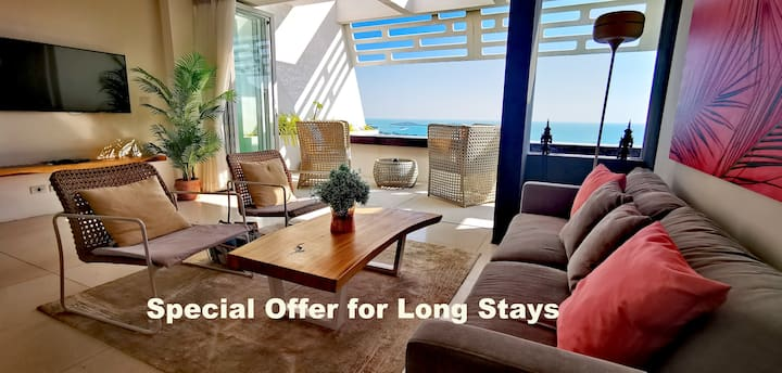 Chaweng Beach Sea View Villa - 40% off for 7+ days