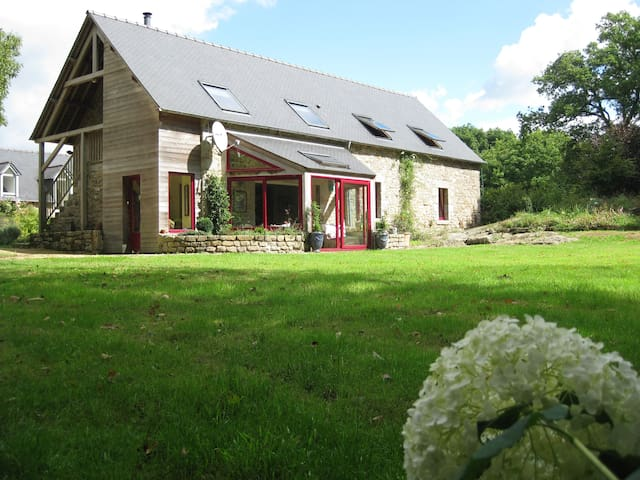 Charming house for 6 pers, nature - Le Fœil - Huis