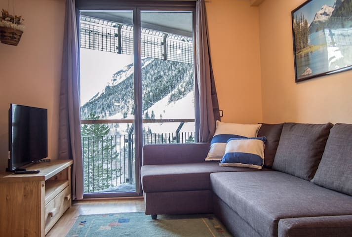 Cozy 1 Bedroom Apt next to Ski Runs, Baqueira 1500 - Baqueira - Apartment