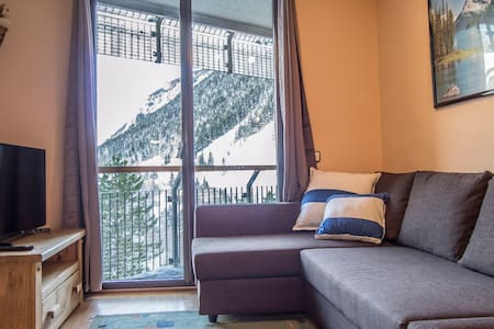 Cozy 1 Bedroom Apt next to Ski Runs, Baqueira 1500 - Baqueira - Apartemen