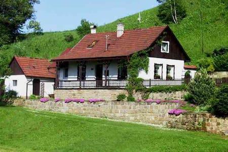 Prachtig landhuis met zwembad - Horní Dobrouč