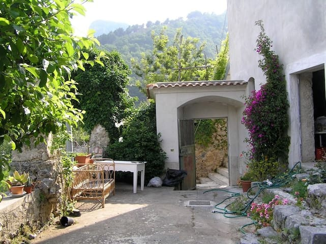 Olive farm converted to family home - Tramonti - Casa