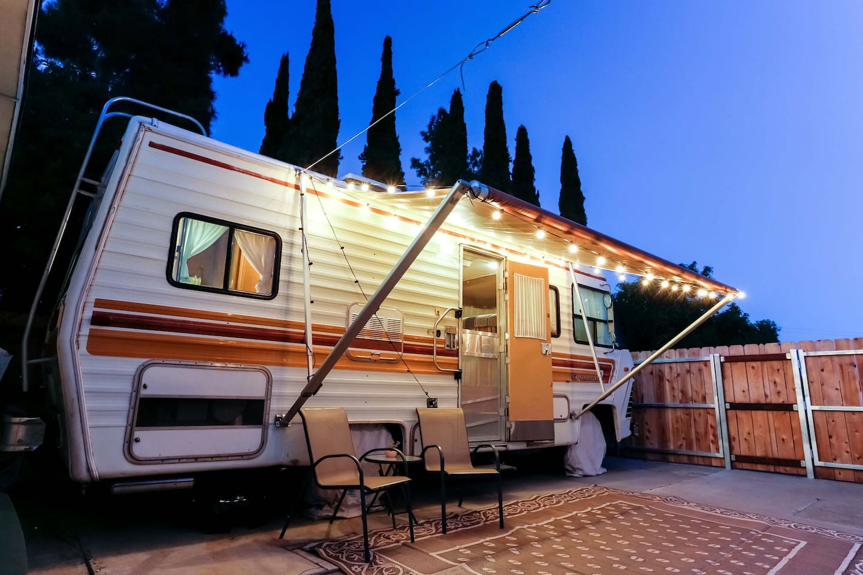 retro unique 70 s rv with a view campers rvs for rent in la