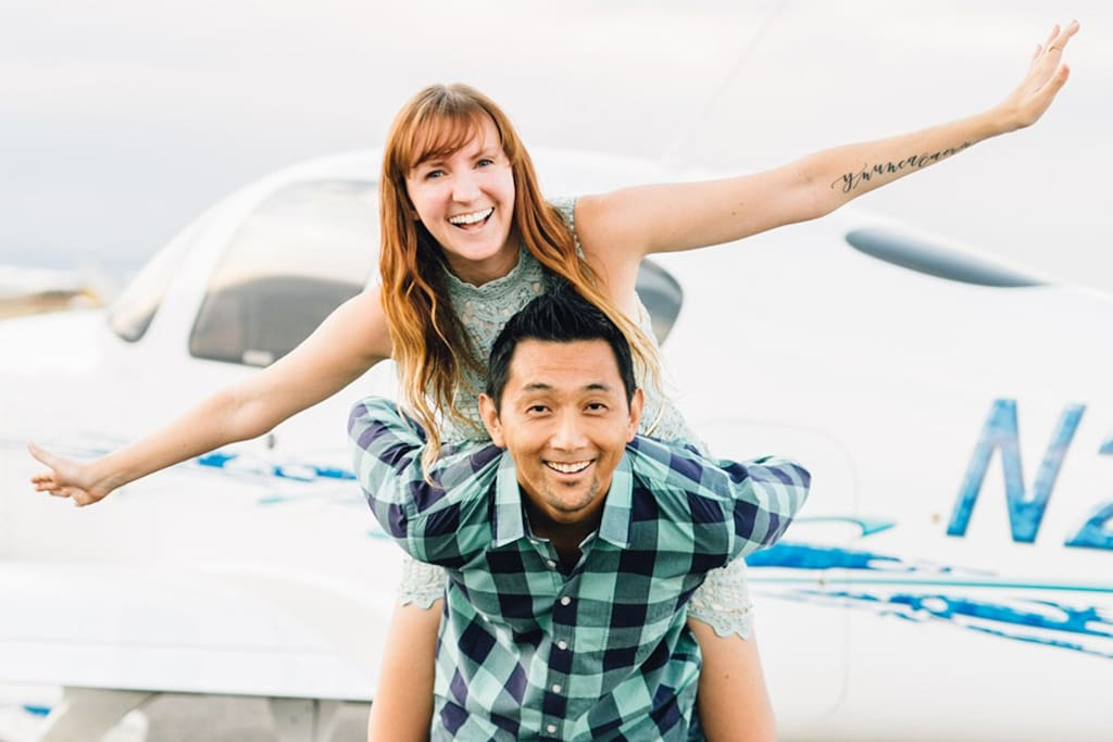 Hi! We're Annabelle + Christian. Thanks for checking out our home! We hope to host you on your Denver getaway!