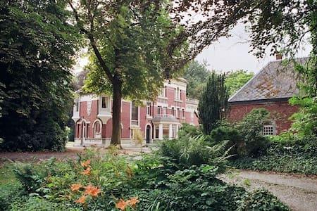 Appartement d'hôtes dans un manoir - Corbehem - 城堡