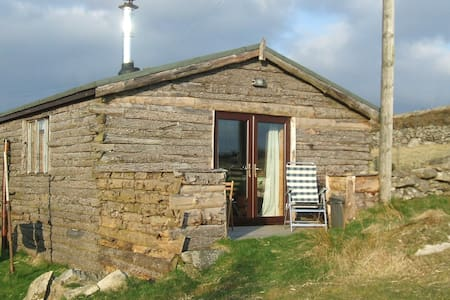 Cosy Log Cabin in a quiet hamlet - Penygroes