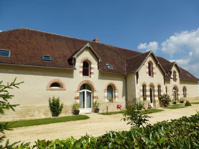 Gite avec Jacuzzi en Val de Loire