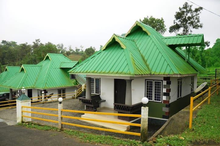 Green valley tea house vagamon