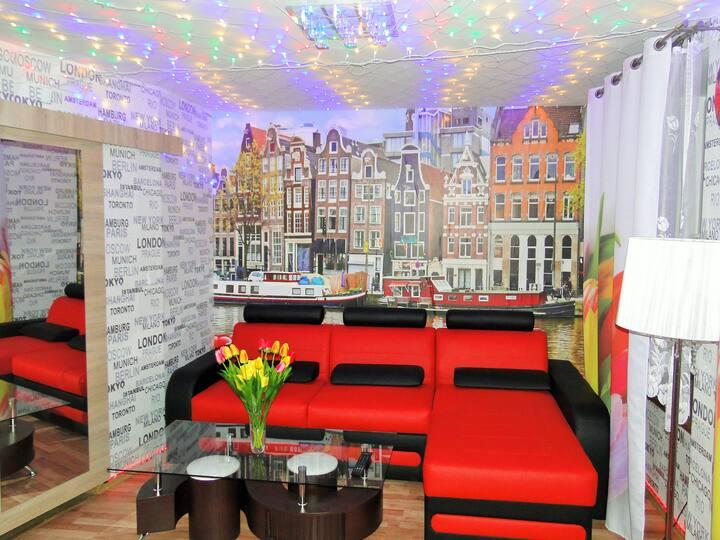 Apartament Amsterdam De Lux
