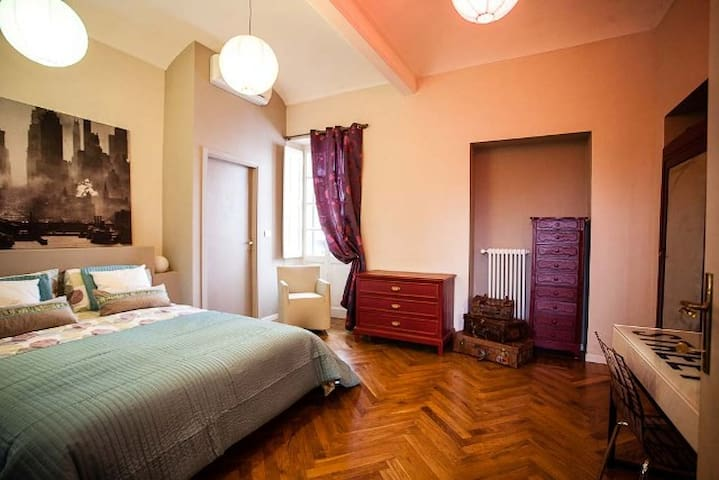 Mathi B&B in villa d'epoca - Mathi - Oda + Kahvaltı