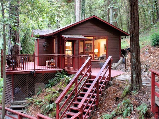 Peaceful and Attractive Cabin in the Redwoods - Monte Rio - Cabaña