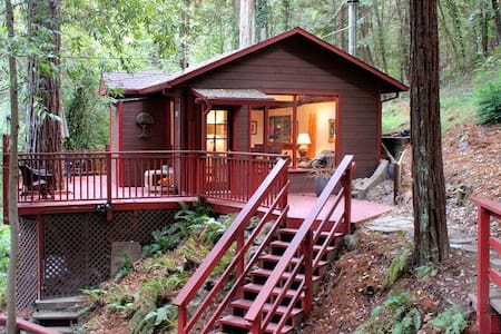 Peaceful and Attractive Cabin in the Redwoods - Monte Rio