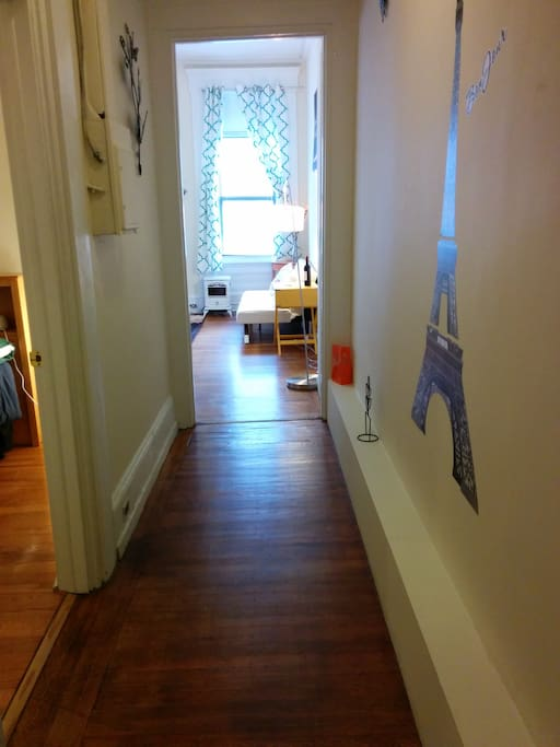 View into the apartment from front door.