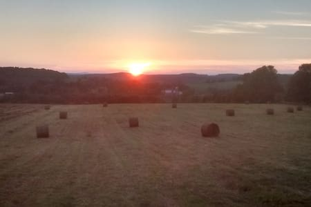 Hilltop Farm Campsight Catskill Delaware Watershed