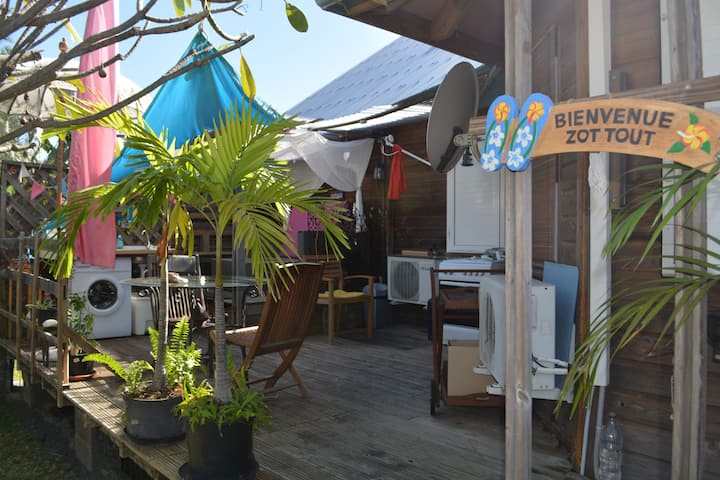 Frangipani Loft Reunion simplicité et convivialité
