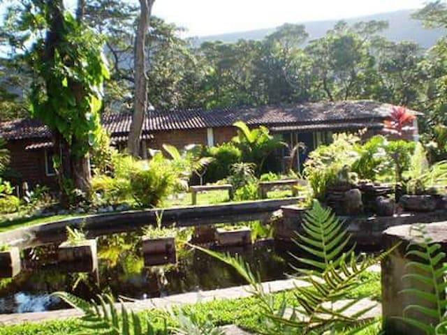 CHALÉ 4 - Hostel do Vale - BAHIA - Palmeiras - Dağ Evi