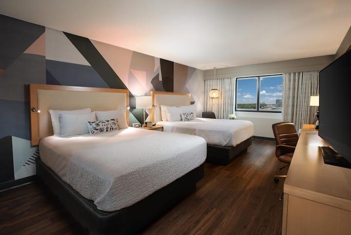The Beeman Hotel, Deluxe Double Queen