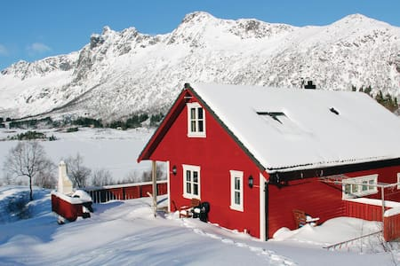 Holiday cottage with 4 bedrooms on 230m² in Svolvær