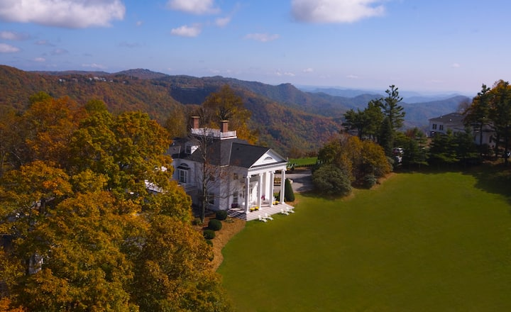 Blowing Rock-Westglow Mansion, 6 BR estate home