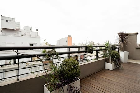 Great Apt: Terrace & Parrilla (BBQ) - Buenos Aires - Apartment - 2