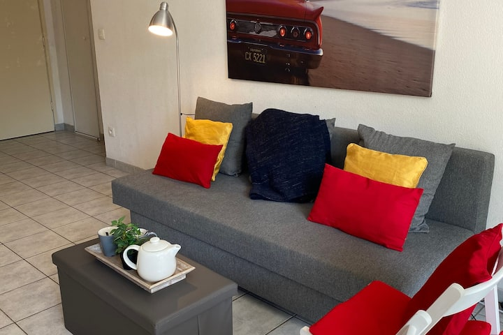Appartement moderne avec piscine Deauville