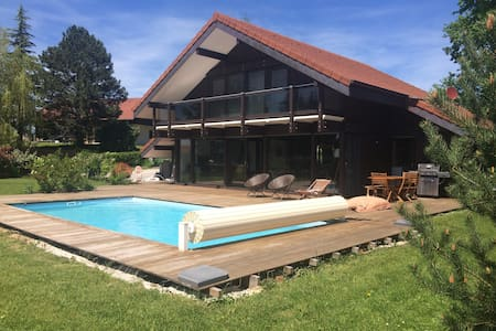 Brand new house with swimming pool Annecy - Villaz - Villa