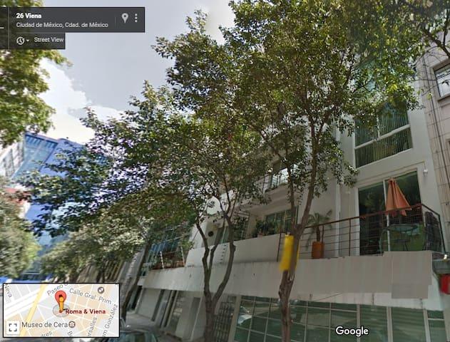 Spacious apartment in the heart of the city! - Ciudad de México - Lakás