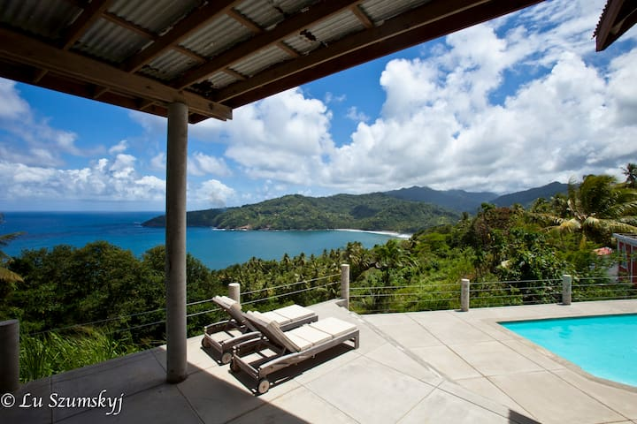 Breezy Bluff private villa with majestic views - Marigot - Villa