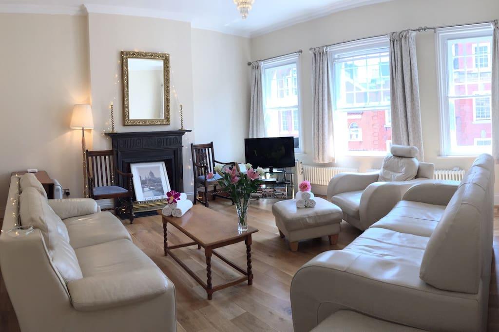 Spacious Living Room...