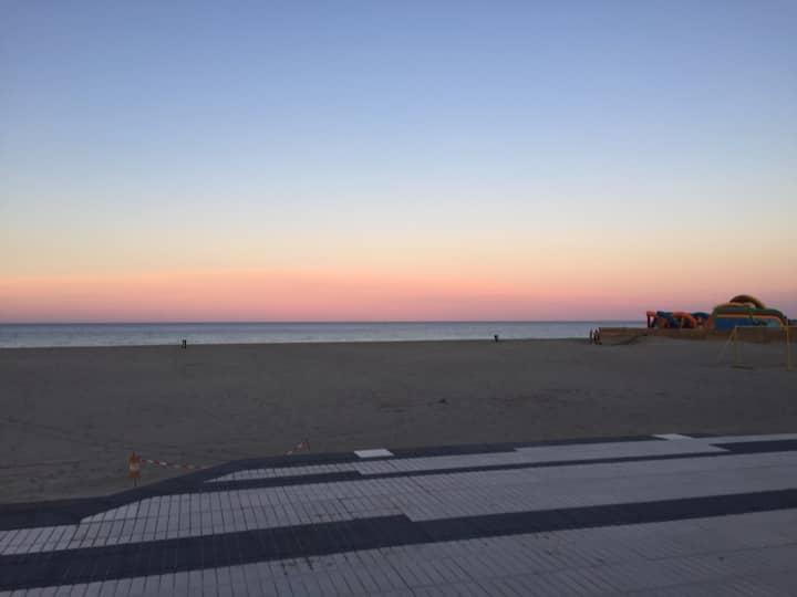 Maison proche de la mer (100m)