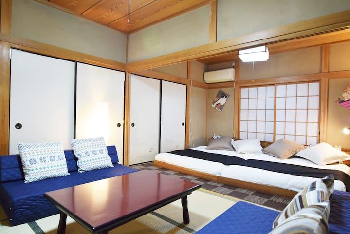 ★ 9min Shinjuku / Draemon bed / Jpn style house - Nakano - Byt