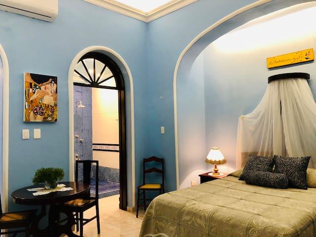 Junior suite privada en Casa Manina