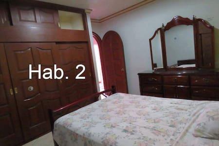 Habitación privada en hermoso departamento - Celaya - Lejlighed