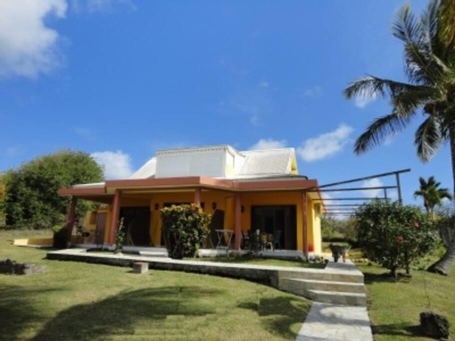 La maison à 1400m² jardin clos (300M de la plage a pied)