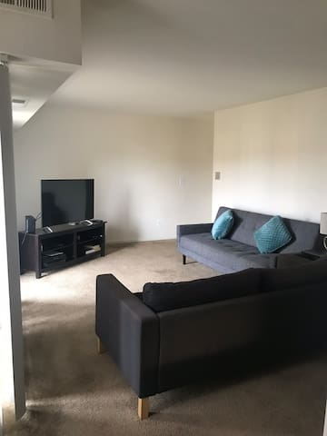 One bedroom in a 2 bedroom apartments