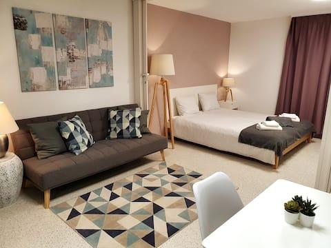 Modern, bekväm lägenhet, 30 min från Zürich