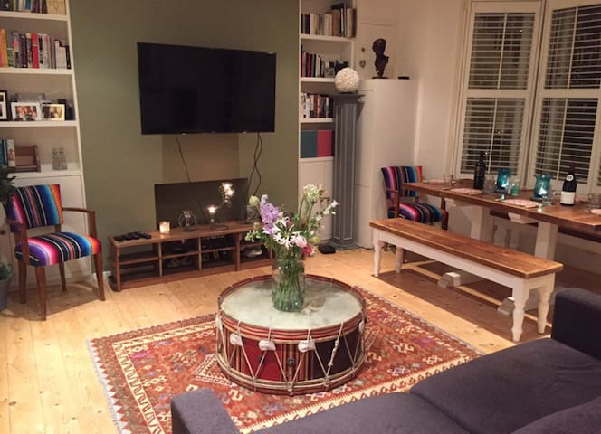 Double bedroom and private bathroom in Fulham flat - Londra - Appartamento