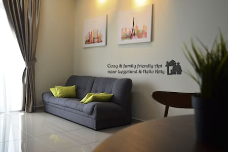 Family friendly 2BR Apt near Legoland & HelloKitty