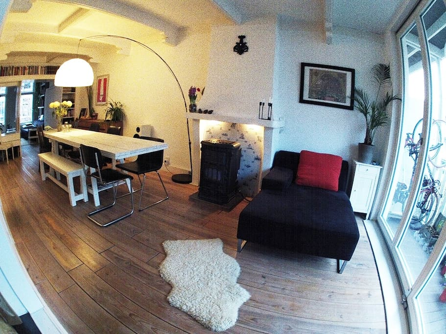 living room - backside