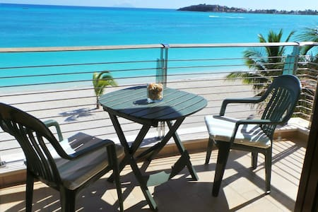 LUXURY BEACHFRONT 2 BEDROOM CONDO - Philipsburg - Condominio