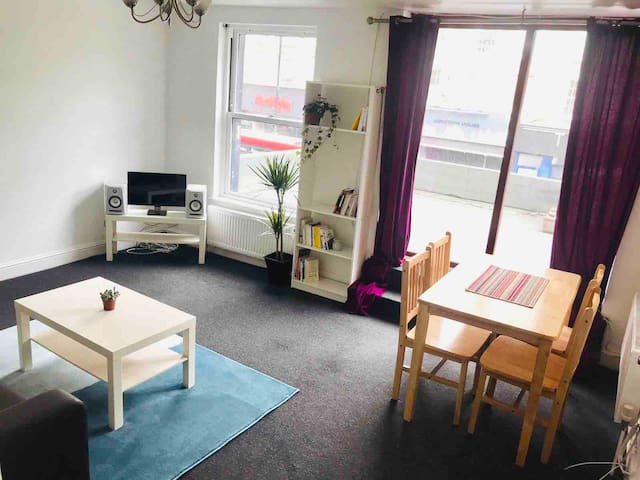 Your own rooftop apartment in the heart of Dalston