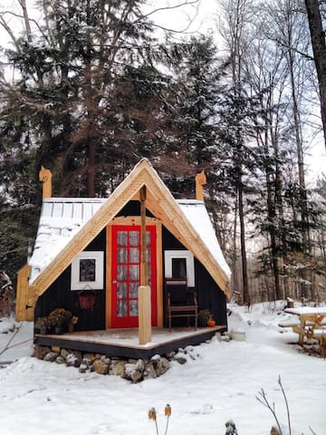 Magical Cozy Vermont Cabin & Sauna - Marshfield - Hus