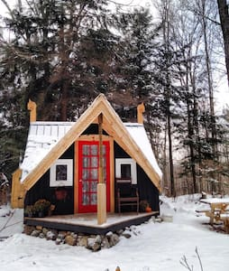 Magical Cozy Vermont Cabin & Sauna - Marshfield - Haus