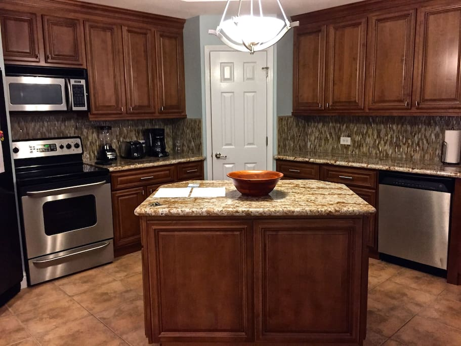 Updates include granite counters, stainless steel appliances.  Fully equipped.